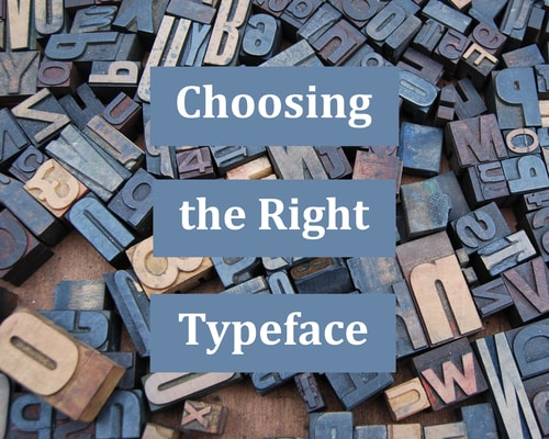 choosing the right typeface cover pic