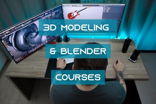 3d modeling and blender cover pic
