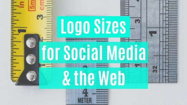 logo sizes for social media