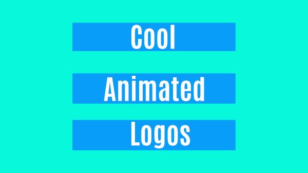 cool animated logos