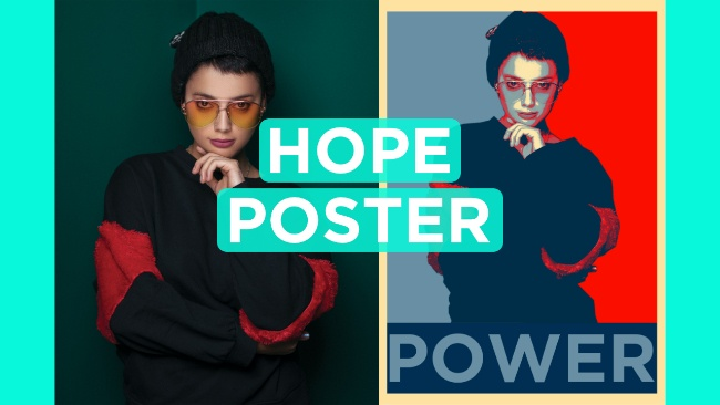 create a hope poster