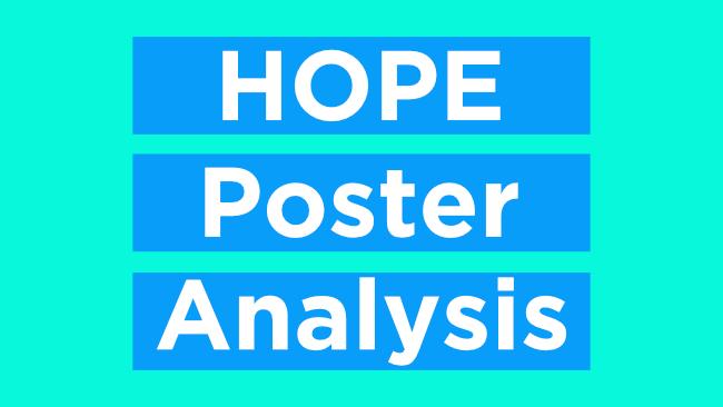 hope poster analysis