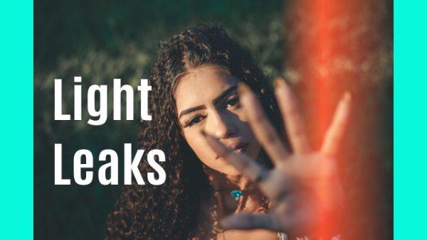 light leak effect in affinity photo