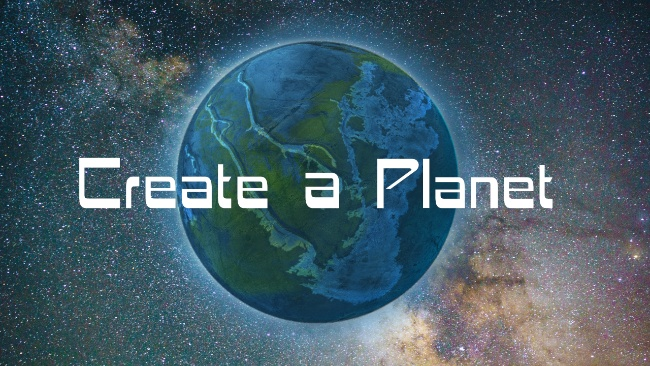 how to create a planet