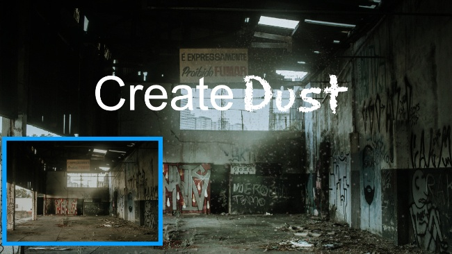 how to create dust