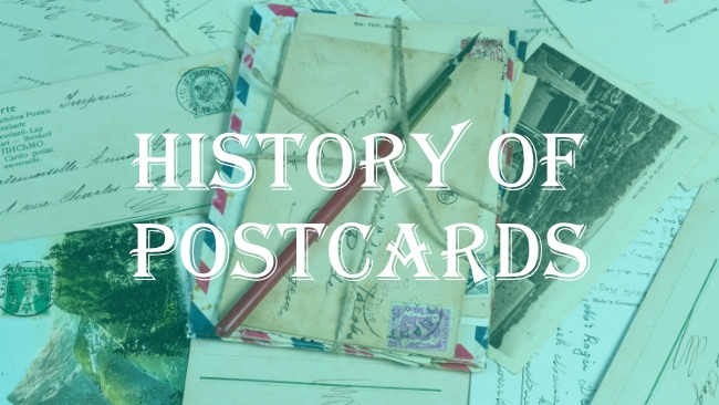 the history of postcards