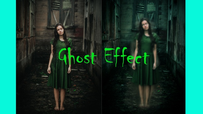 ghost effect in affinity photo