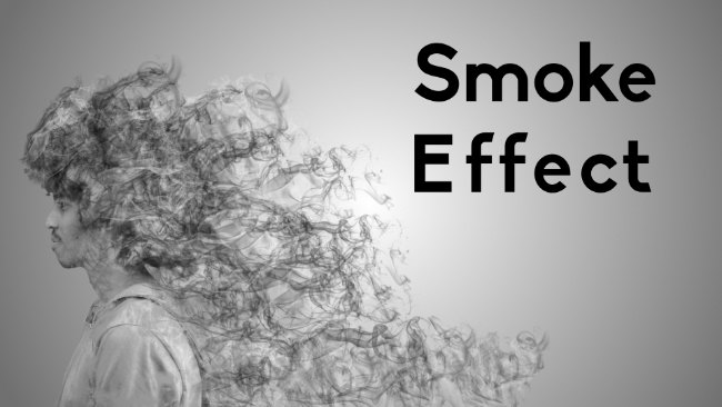 smoke effect in affinity photo