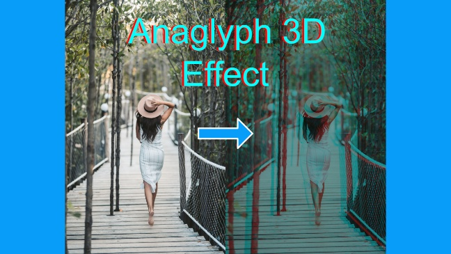 anaglyph 3d effect